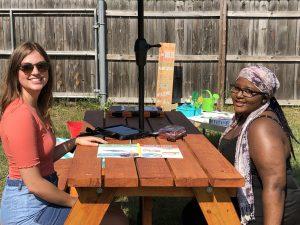 Summer interns Ellie & Sharon